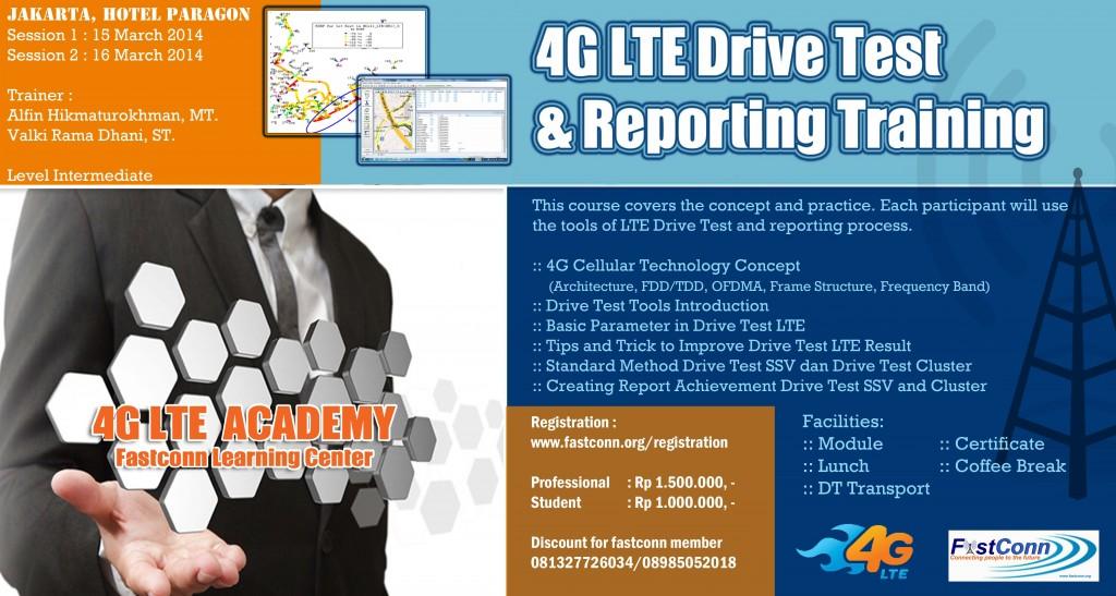 Drive Test LTE