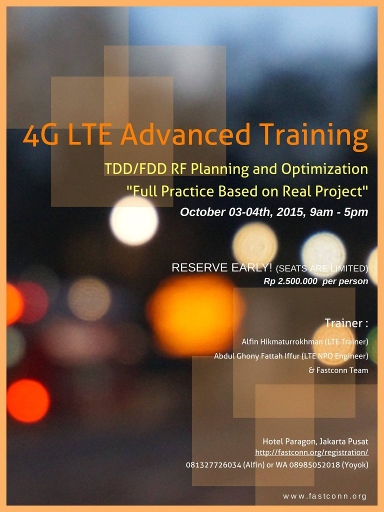 4G LTE Advanced Taining