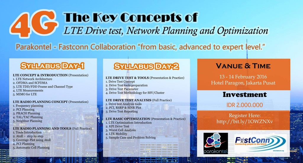 LTE Key Concept of Drive Test Planning & Optim